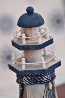 beacon, handmade, light house, wood, traditional, old, antique, miniature, vintage, architecture