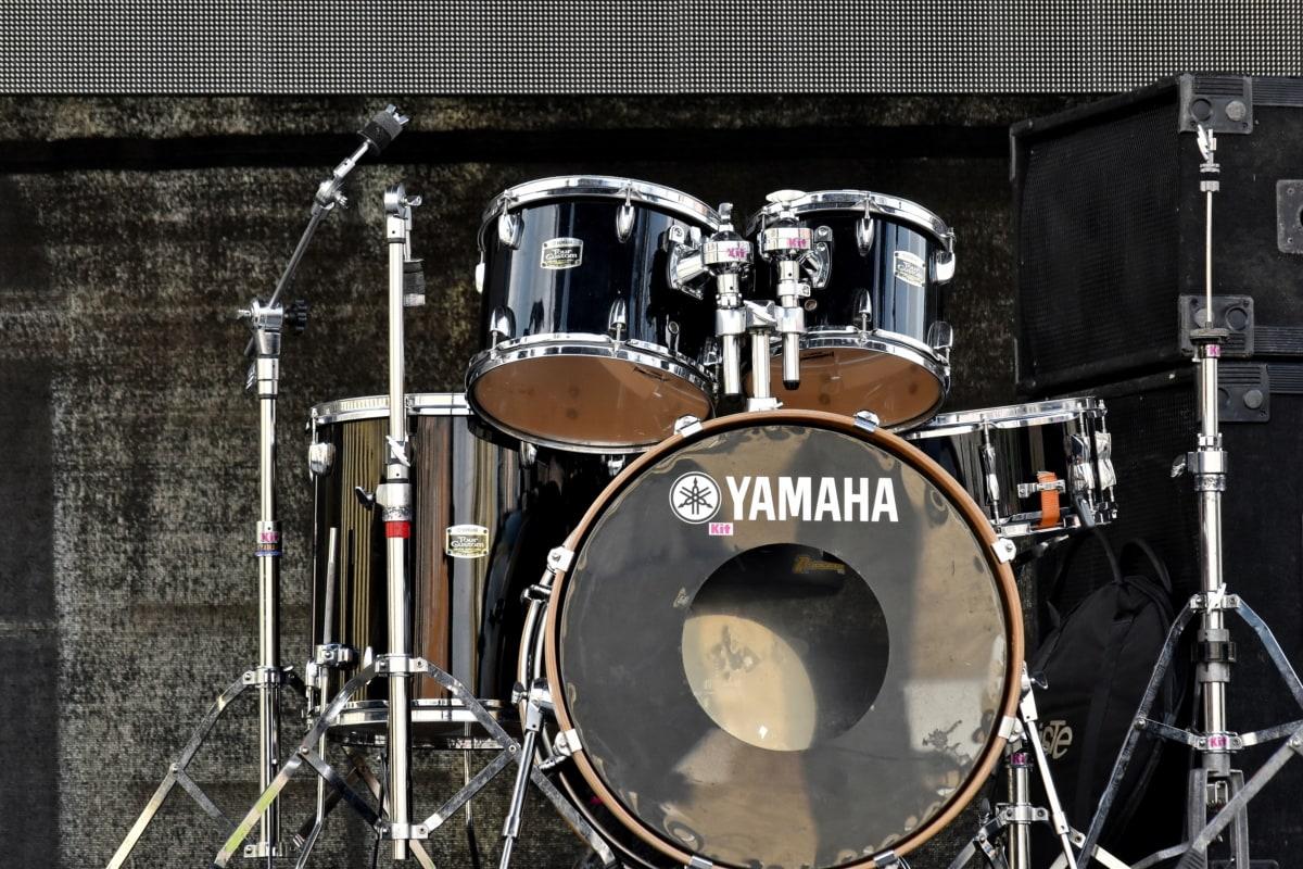 musique, tambour, en acier, concert, bande, instrument, Retro, équipement, son, musicien