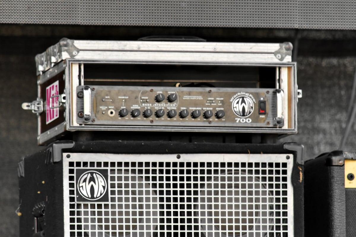 音频, 电台, 设备, 电子, 放大, 复古, 者, 技术, 声音, 老