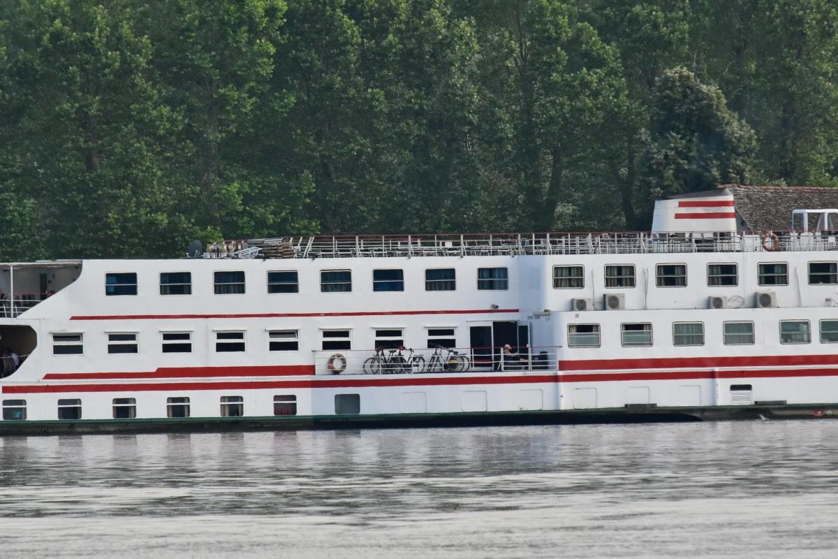 tàu du lịch, Sông Danube, Serbia, watercraft, xe, nước, Bến phà, ngoài trời, tàu, sông