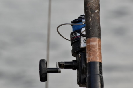 fishing gear, fishing rod, machine, mechanism, sport, action, equipment, water, outdoors, nature