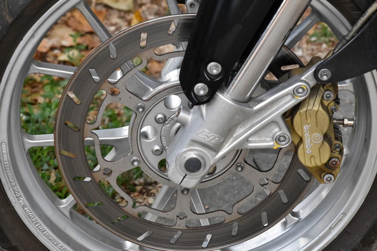 legure, aluminij, motocikl, guma, kolo, kočnica, krom, čelik, strojevi, tehnologija