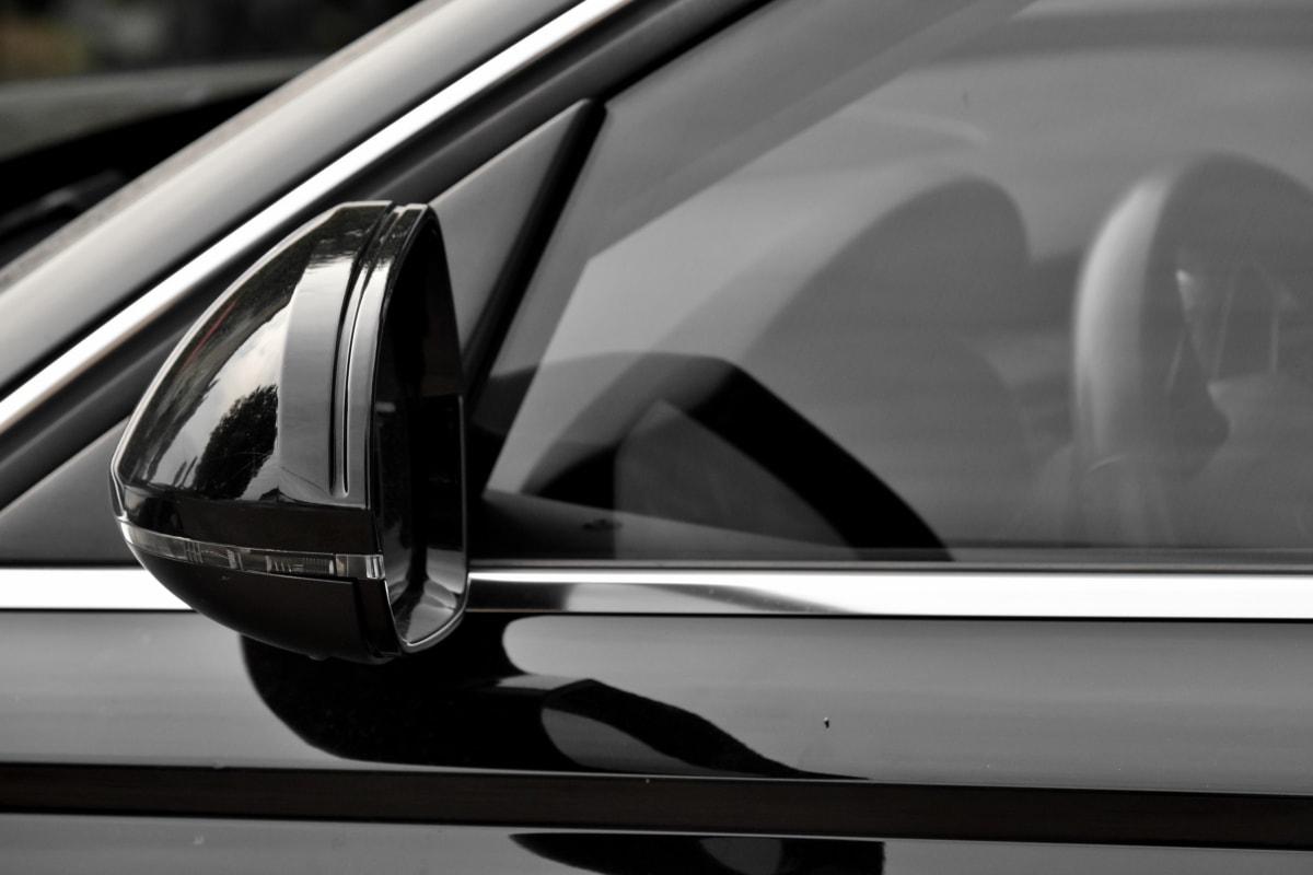 μαύρο και άσπρο, αυτοκίνητο, κομψό, γυαλί, καθρέφτης, κατηγοριοποίηση, στυλ, αυτοκινητοβιομηχανία, όχημα, μονόχρωμη