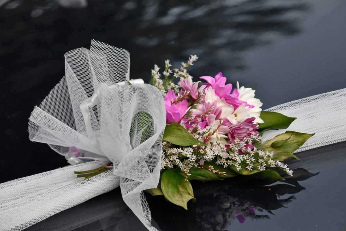 ordningen, bukett, seremoni, dekorasjon, bryllup, busk, natur, blomst, blad, romantikk