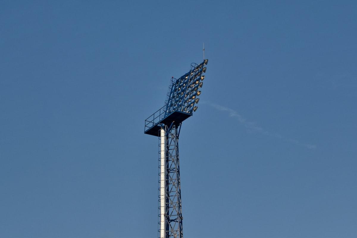 電気, 高, 反射板, クラウド, アンテナ, アーキテクチャ, 青い空, 構築, 市区町村, 建設