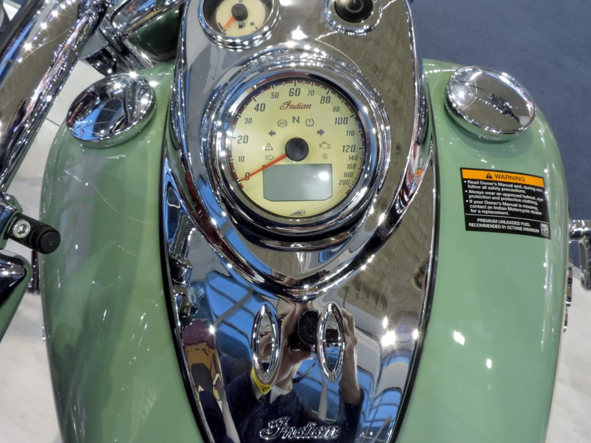 metalíza, motocykel, reflexie, rýchlomer, klasický, chróm, antický, vozidlo, Luxusné, strojové zariadenia