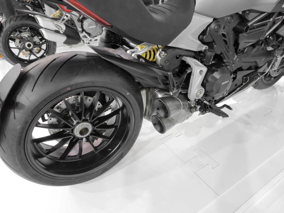 engine, engineering, garage, modern, motorcycle, repair shop, tire, transport, vehicle, wheel