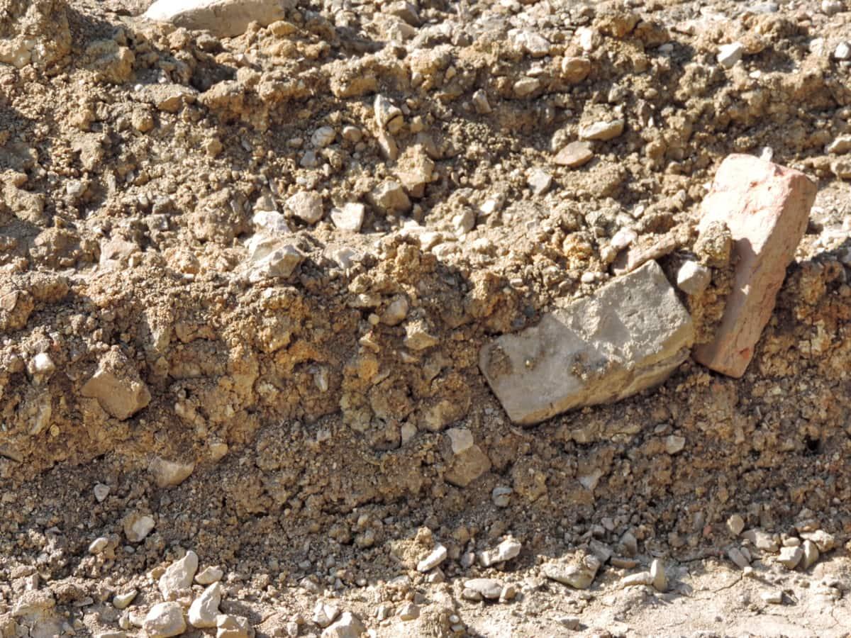 materijal, tla, kamenje, kamena, tekstura, tlo, prljavi, grubo, prašina, Blato