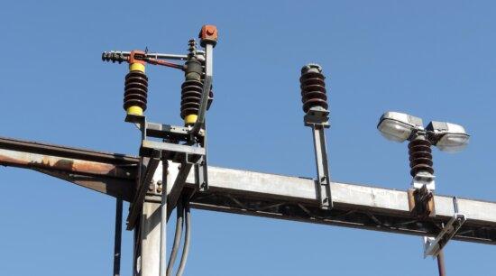 électricité, secteur d'activité, tension, fils, équipement, sémaphore, câble, technologie, fil, haute