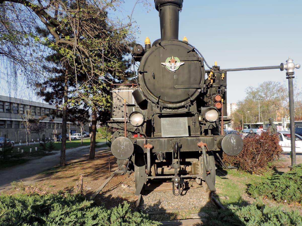 怀旧, 蒸汽引擎, 蒸汽机车, 街道, 马车, 火车, 引擎, 车辆, 铁路, 机车