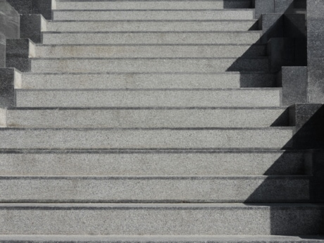 architectural style, grey, marble, staircase, stone, equipment, material, step, wall, architecture