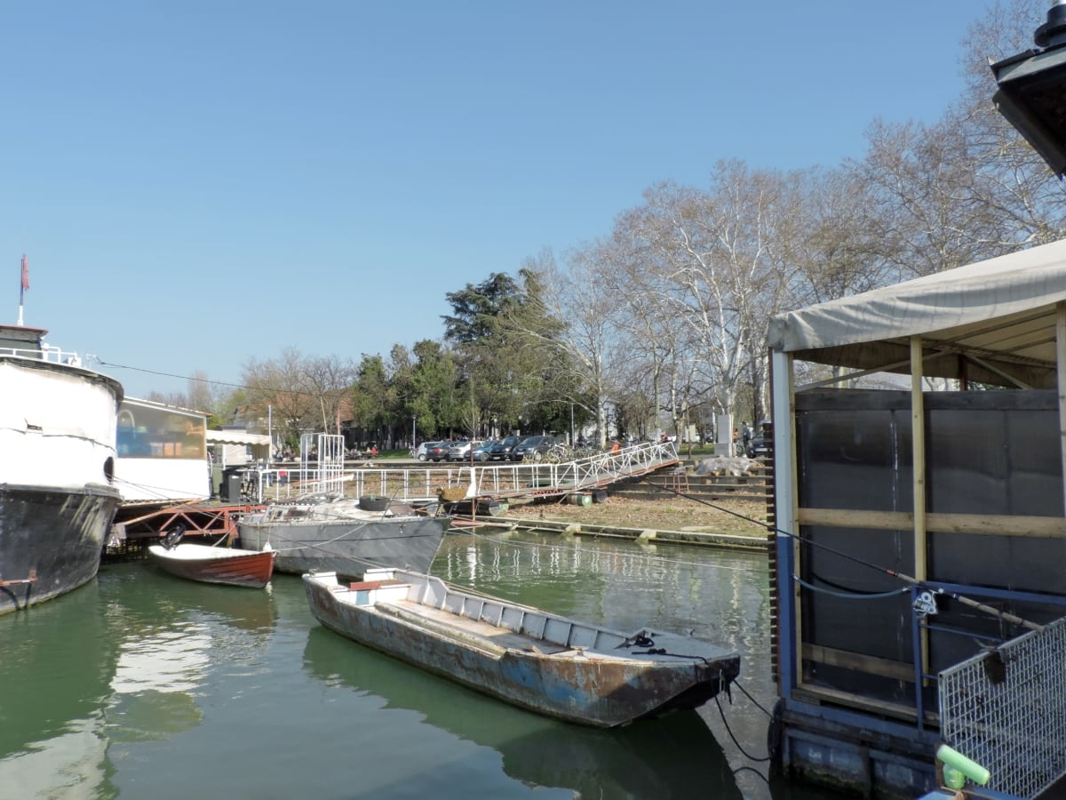 Boathouse, канал, Будівля, води, сарай, човен, Річка, канал, озеро, Водний транспорт