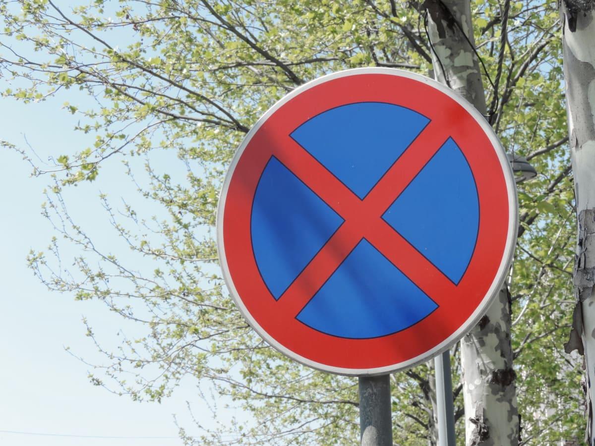 kontrola prometa, cesta, promet, znak, Upozorenje, simbol, drvo, signal, ulica, priroda