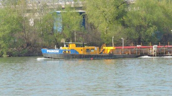 barge, eau, navire, remorqueur, bateau, rivière, embarcation, véhicule, à l'extérieur, nature