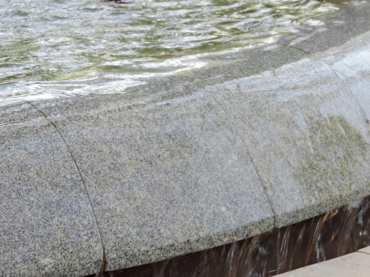 fountain, urban area, water, nature, wet, summer, stone, rock, outdoors, texture