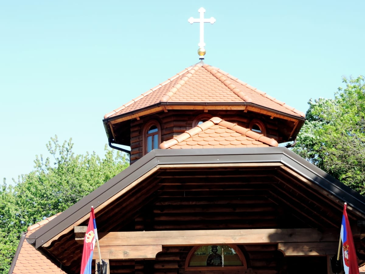 church, monastery, orthodox, wooden, architecture, roof, building, religion, wood, traditional