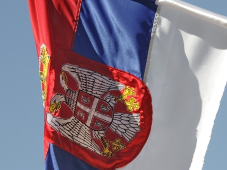 flag, heraldry, Serbia, emblem, patriotism, pride, democracy, country, outdoors, symbol