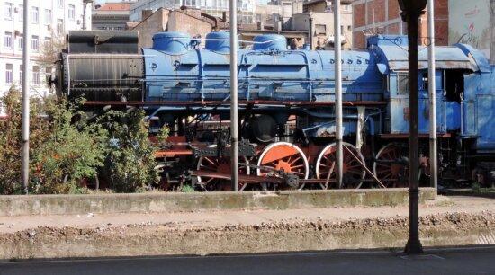 abandoned, cargo, locomotive, old, railway station, steam engine, train, engine, railway, steam locomotive