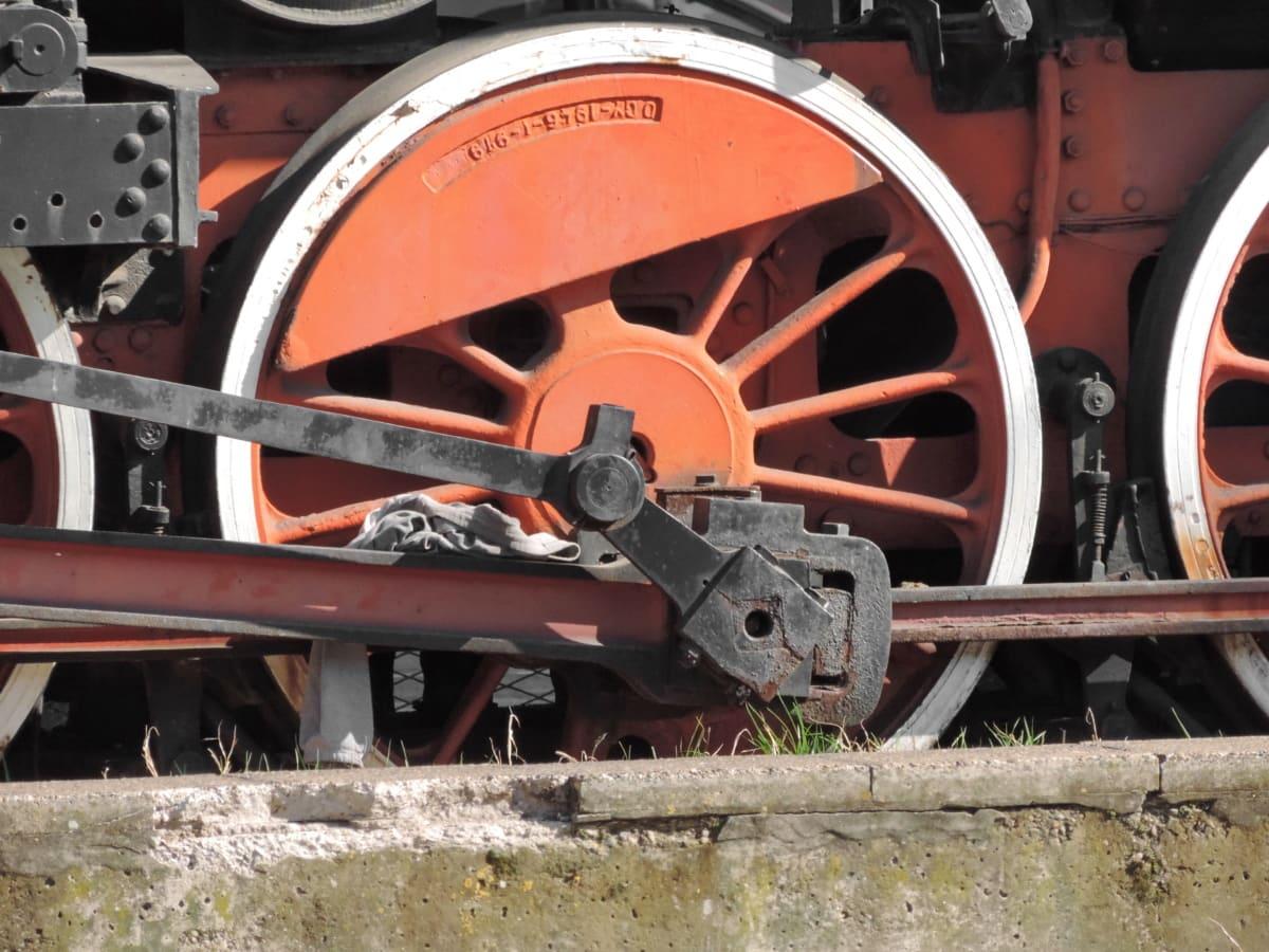 liatina, železničná, železničná stanica, koleso, lokomotíva, strojové zariadenia, priemysel, oceľ, kondenzácia, železo