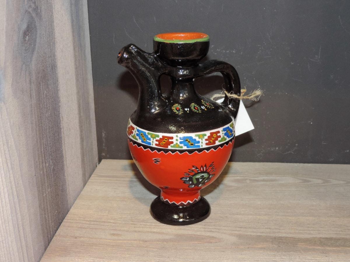 Zemljani, ručni rad, ukras, bacač, kontejner, vaza, keramika, umjetnost, tradicionalno, boja