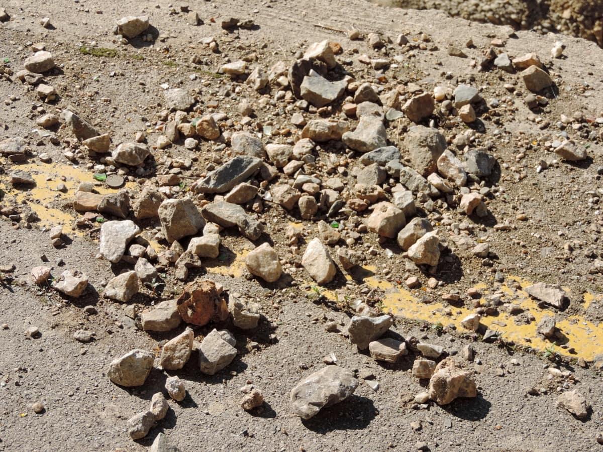 Beton, Erdbeben, Straße, Textur, Boden, Natur, Rock, Staub, Boden, im freien