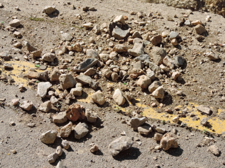 concrete, earthquake, road, texture, soil, nature, rock, dust, ground, outdoors