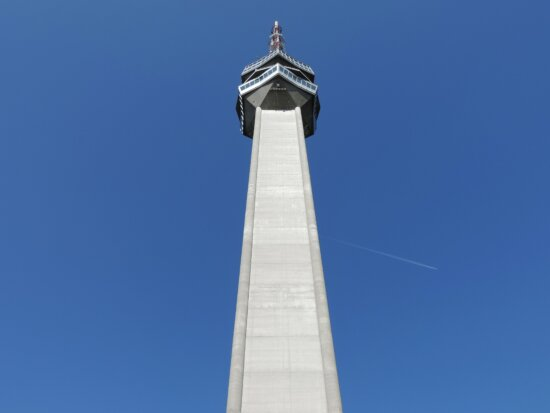 capital city, obelisk, Serbia, television, tower, structure, architecture, blue sky, outdoors, building