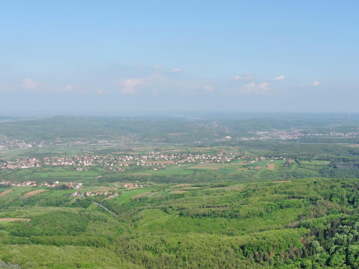 padina, panorama, krajolik, planinski kraj, trava, polje, priroda, brdo, poljoprivreda, planine