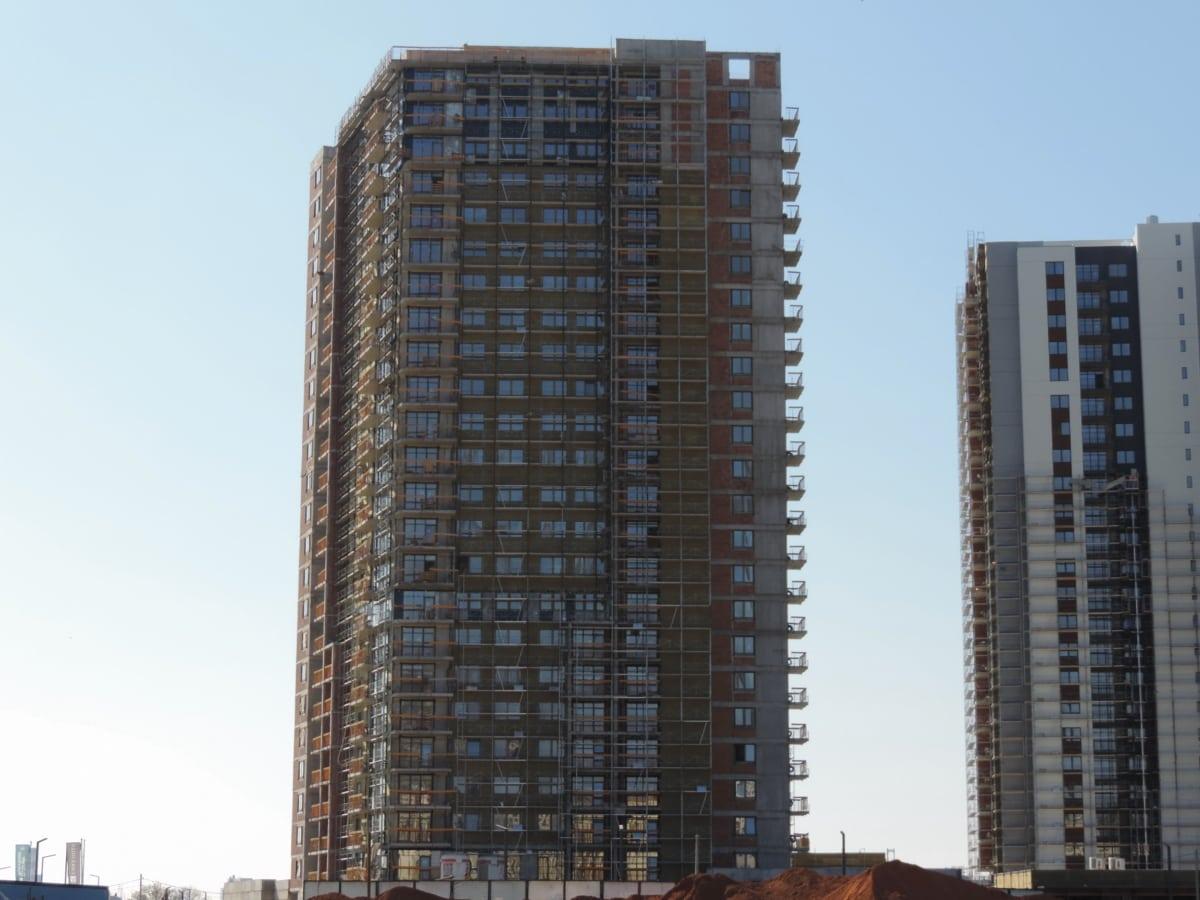 摩天大楼, 构建, 城市, 市中心, 城市, 体系结构, 城市, 天际线, 办公室, 高