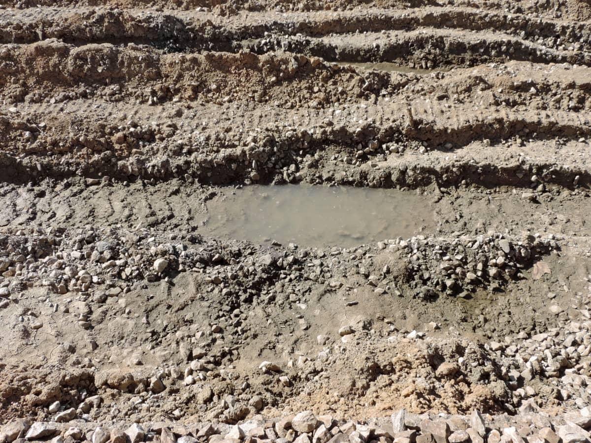 ødemark, mudder, sten, jord, sand, tekstur, beskidt, jorden, ru, udendørs