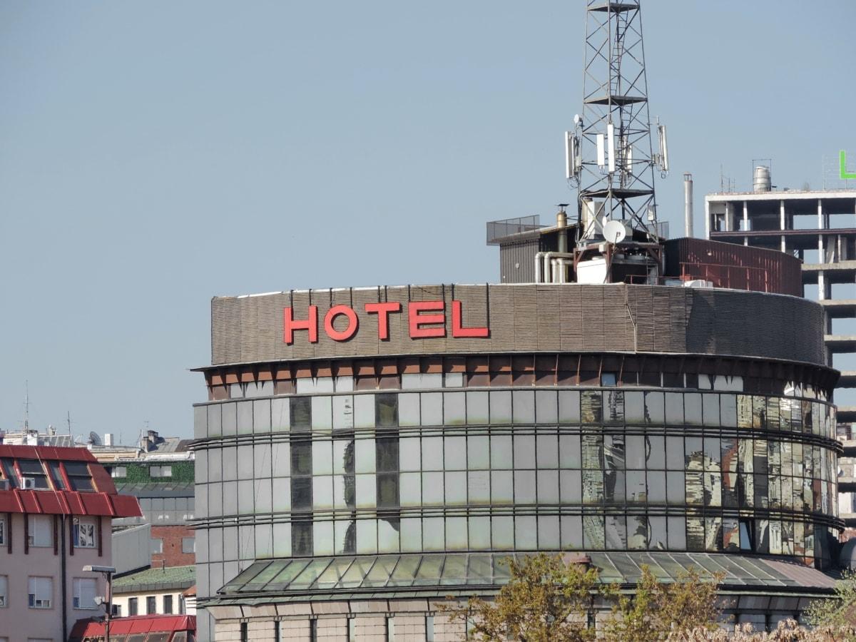 budova, hlavné mesto, hotel, Srbsko, Architektúra, štruktúra, doska, podnikanie, vonku, priemysel