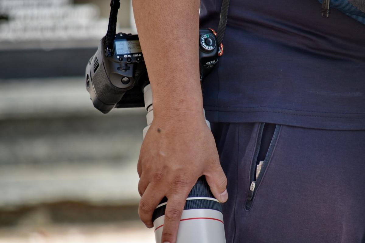 clony, paže, fotoaparát, zameranie, Ručné, objektív, Foto, fotografia, fotograf, fotografovanie