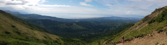 excursionista, cima de la colina, montañista, escalada de montaña, Highland, montaña, montañas, rango, paisaje, naturaleza