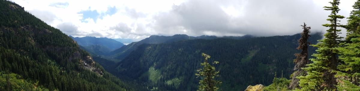 foresta, panoramico, Valle, natura, montagna, tempo libero, legno, orizzontale, montagne, nebbia