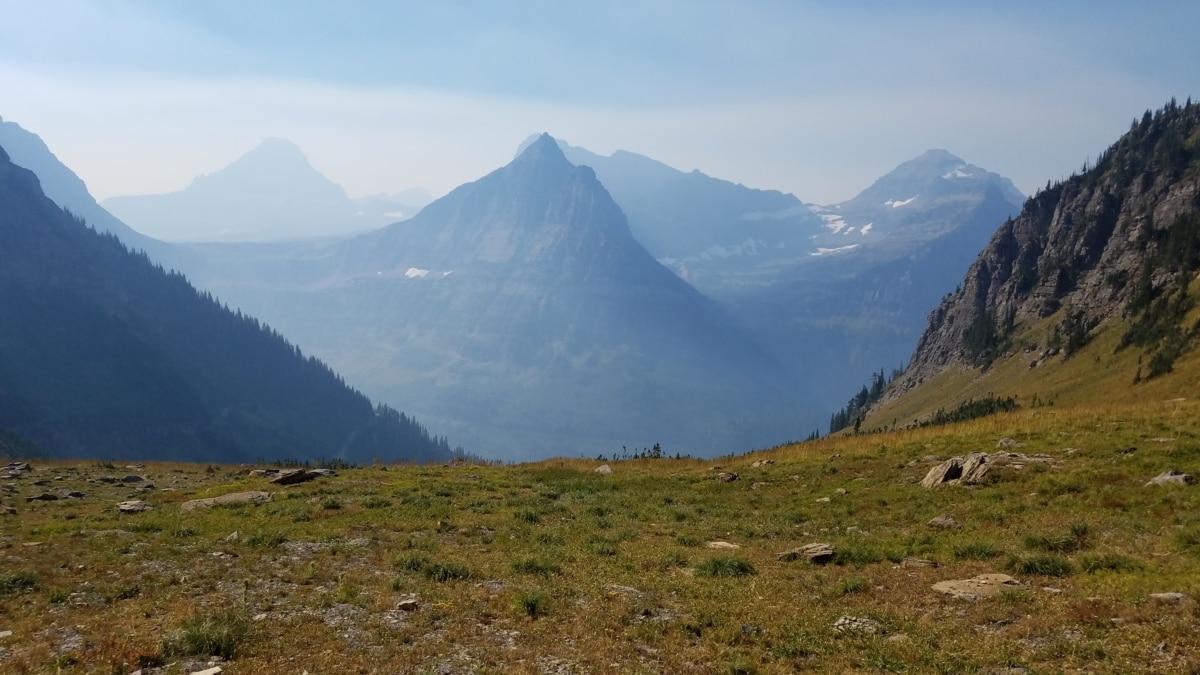 stráň, hmla, vrch, Národný park, údolie, vrch, Príroda, hory, vysočina, rozsah