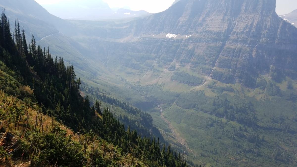 hory, rozsah, údolie, Príroda, vrch, drevo, príroda, strom, voda, hmla