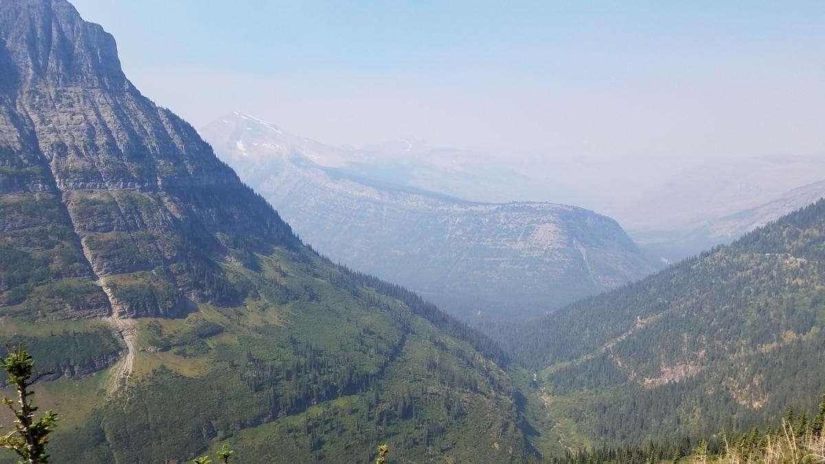 foggy, geology, mountain peak, mountain, range, landscape, valley, mountains, nature, wood