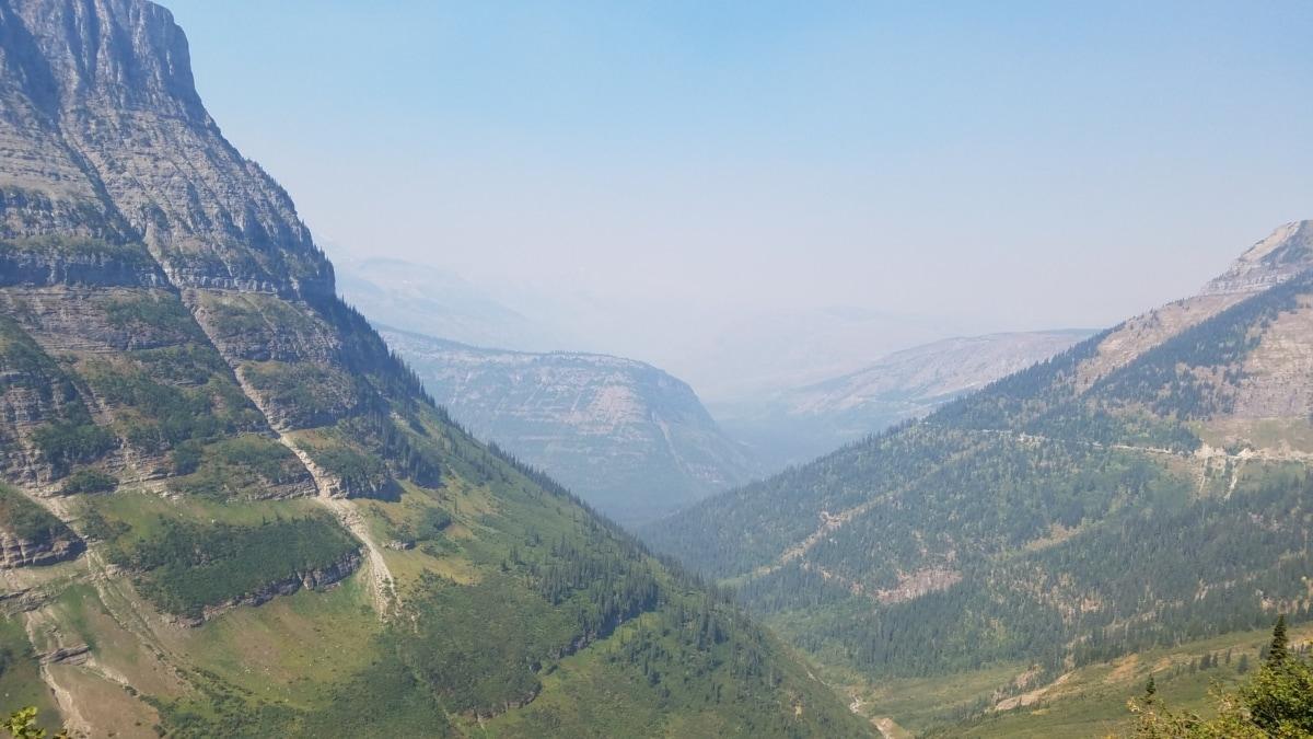 alpine, foliage, greenish yellow, valley, mountains, mountain, range, high land, landscape, nature