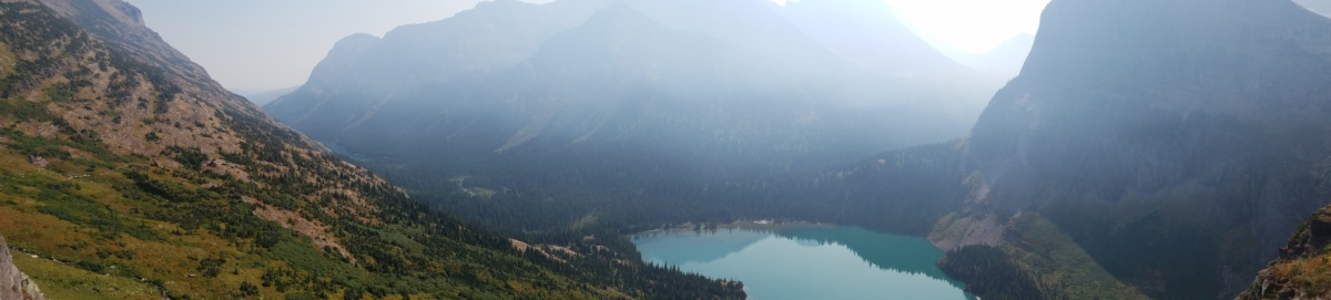 berg, water, nevel, landschap, mist, meer, natuur, hout, buitenshuis, dageraad
