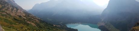 fjell, vann, tåke, landskapet, tåke, innsjø, natur, tre, utendørs, daggry