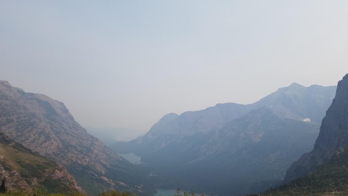 mountain peak, mountainside, valley, mountains, fog, mountain, dawn, landscape, nature, mist