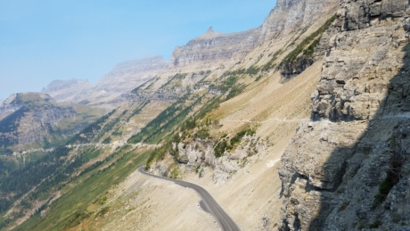 altitude, ascent, geology, majestic, mountainside, road, rock, slope, nature, mountain