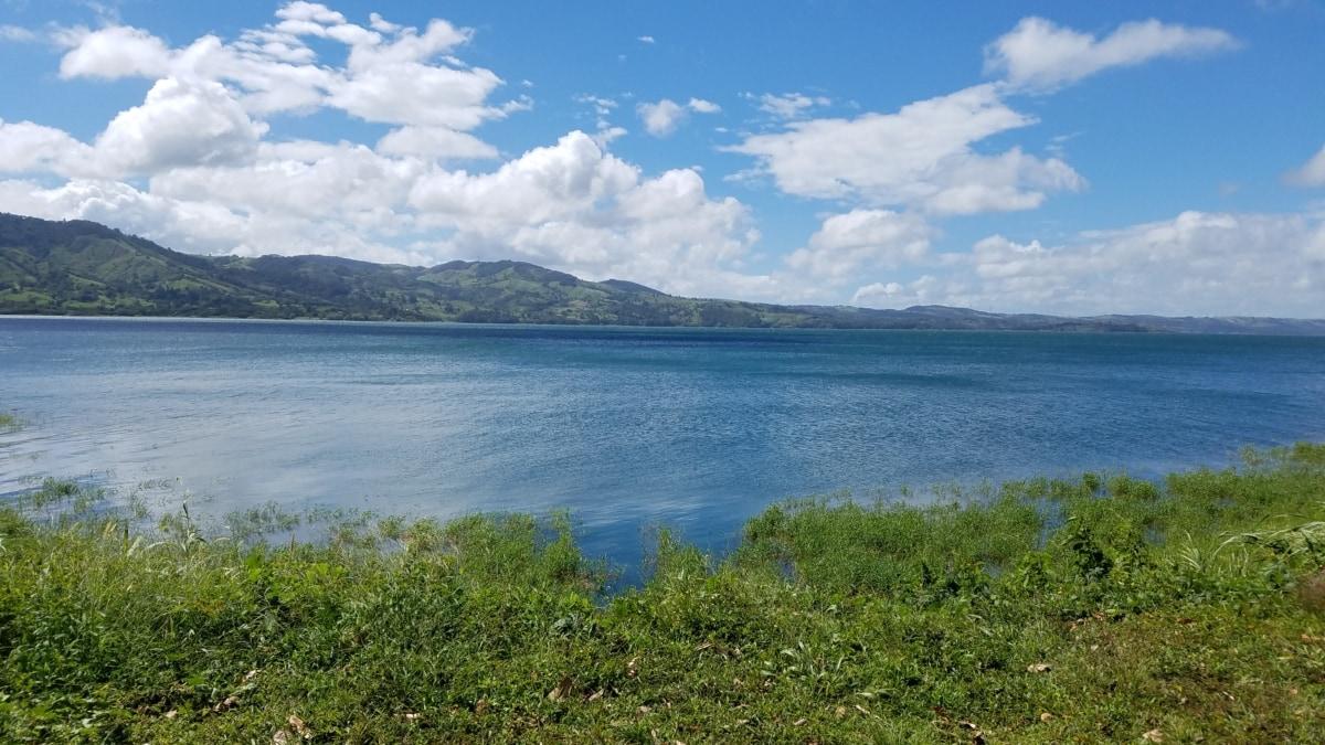 晴朗天气, 湖, 雄伟, 性质, 水, 湖, 景观, 岸, 夏天, 海滩