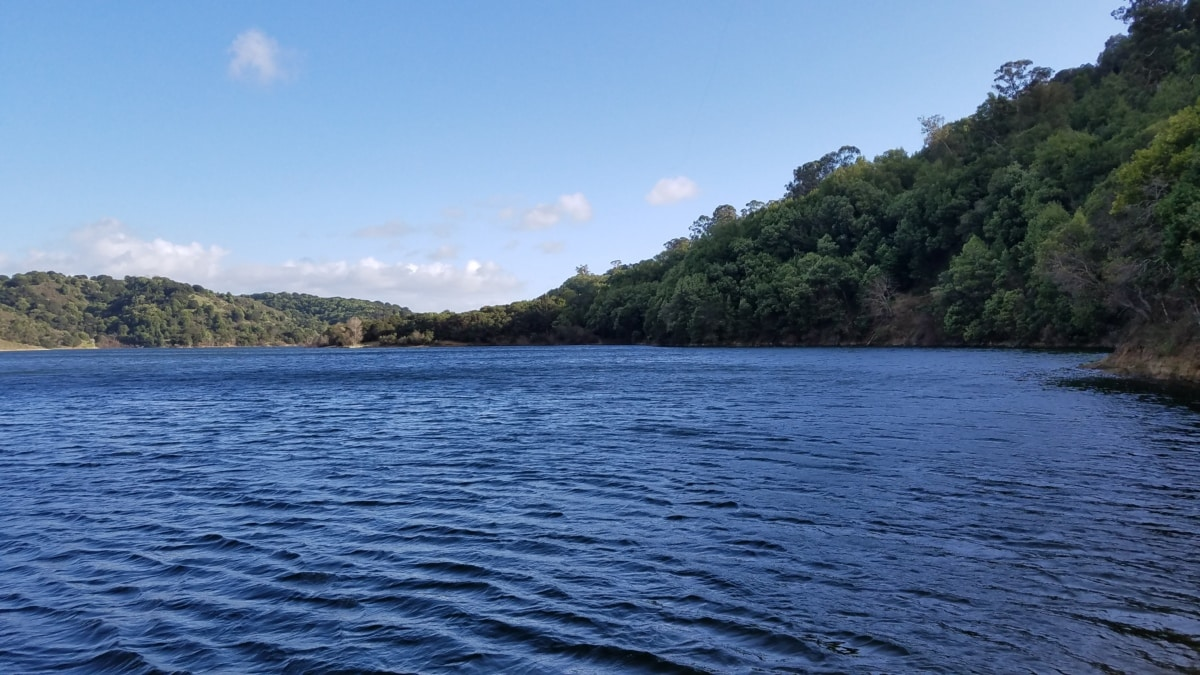 地平线, 湖, 国家公园, 表面, 水, 湖, 岸, 盆地, 性质, 景观