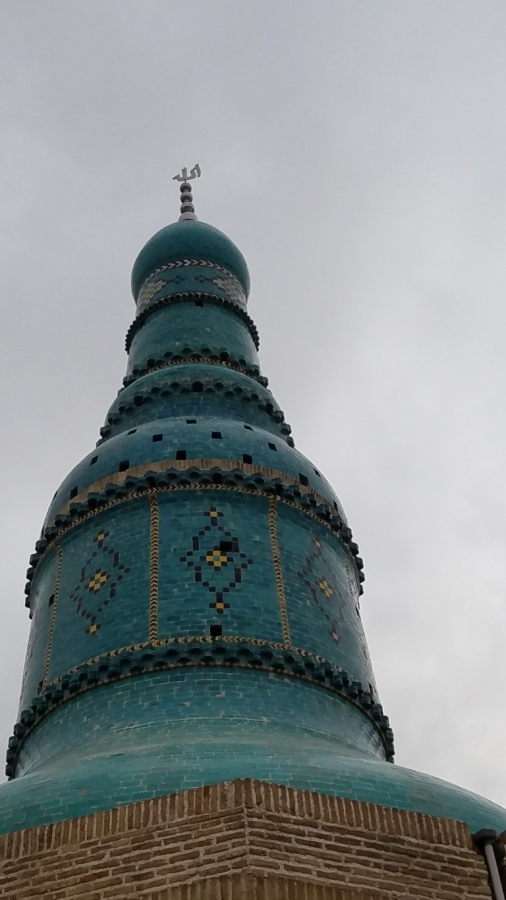 arabesque, oriental, ornament, perspective, tiles, tower, worship, building, shrine, structure
