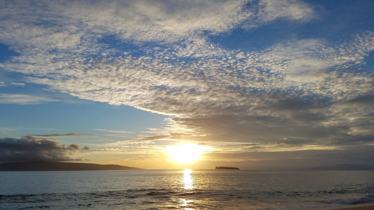 horizon, Tropical, océan, lever du soleil, Soleil, Star, coucher de soleil, mer, plage, aube