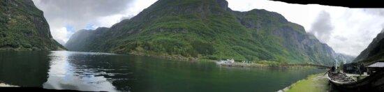 bateau, remise à bateaux, au bord du lac, Panorama, montagne, Knoll, paysage, eau, Lac, nature