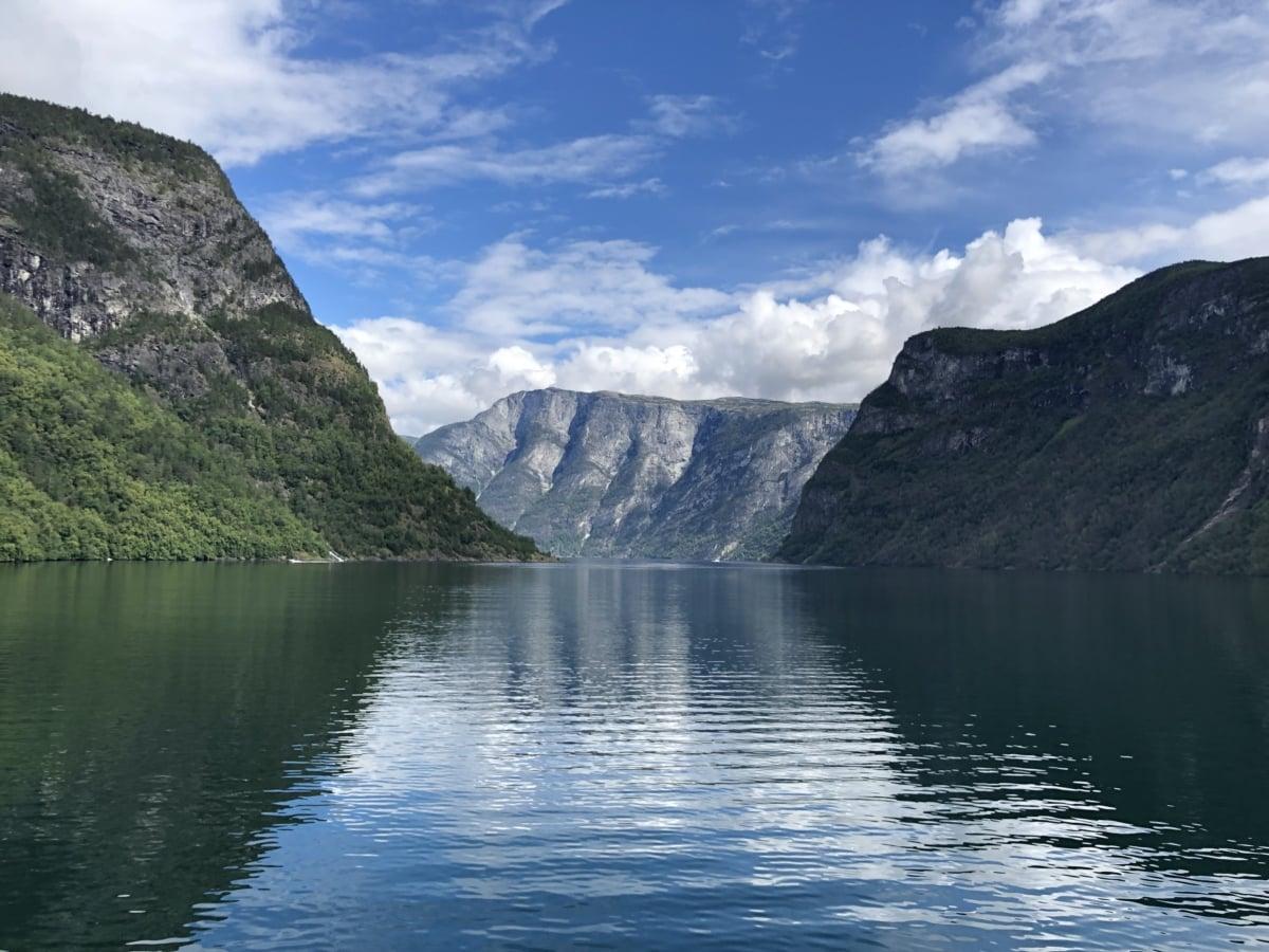 frumos, cer albastru, pe malul lacului, peisaj, reflecţie, Sezonul de vară, Munţii, apa, munte, Lacul