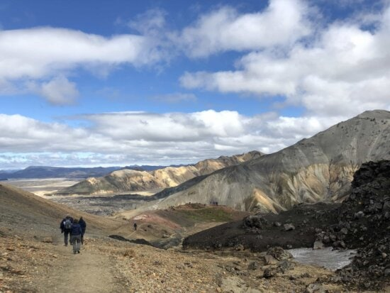 ascent, geology, hiker, hilltop, people, tourist attraction, valley, high land, mountain, mountains