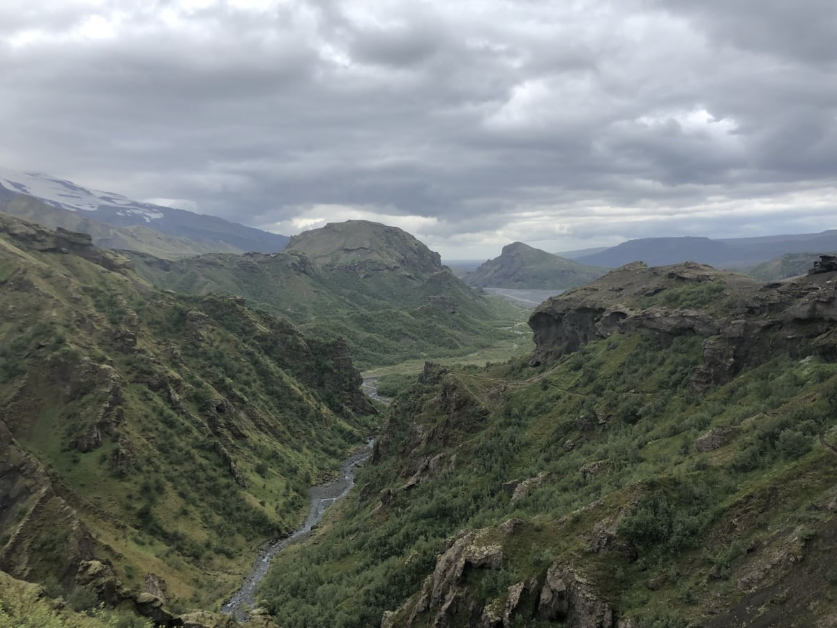 mountain peak, valley, range, mountain, high land, mountains, landscape, nature, river, water